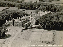 Tregenna Castle - Historic Photo